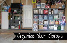 Organizing the Garage  DIY