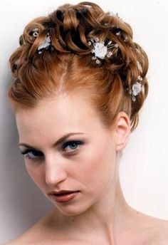 unique bridesmaids hairstyles | Hairstyles: Layered Hairstyles Choppy Hairstyles Curly Hairstyles ...