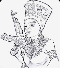Half Sleeve Tattoos Drawings, Forearm Sleeve Tattoos, Tattoo Sleeve Designs, Half Sleeve Tattoo Stencils, Tribal Sleeve Tattoos, Osiris Tattoo, Nefertiti Tattoo, African Warrior Tattoos, African Tattoo