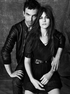 Charlotte Gainsbourg & Nicholas Ghesquière