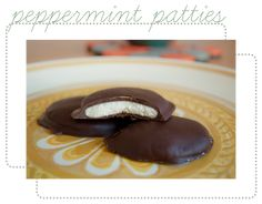 Feisty little suckers to make, but theyre good! Homemade Peppermint Patties Recipe = YUM! #dessert #recipes