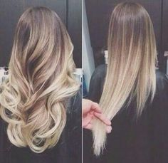 nice ombre hairstyle