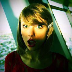 La twitpic de Taylor Swift