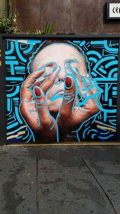 Amazing Street Art & Graffiti in Sao Paulo, Brasil. This is from the Vila Madalena neighborhood...what a stunning, artistic, city region.