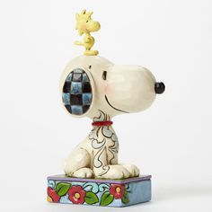Jim Shore Peanuts Collection Snoopy & Woodstock Personality 4044677 NEW