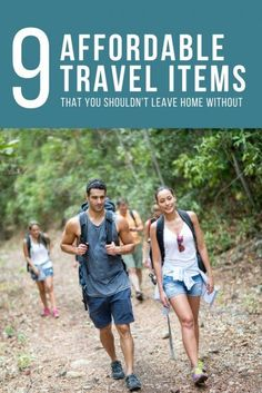 9 Affordable Travel Items That You Shouldnt Leave Home Without