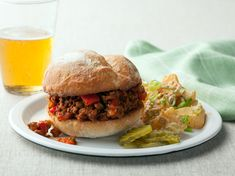 These are soooo good. I use ground turkey. Super Sloppy Joes Recipe : Rachael Ray : Food Network - FoodNetwork.com