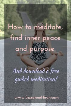 A beginner's guide to mediation, finding inner peace and healing emotionally…