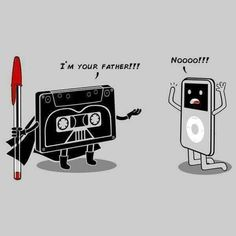 loving this Star Wars funny. I am your father.