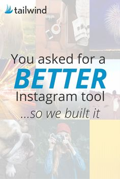 Did you know @Tailwind is about to release their Instagram scheduling tool? Get…