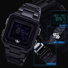 Rare Adidas WATCH 1/1000 Black CERAMIC