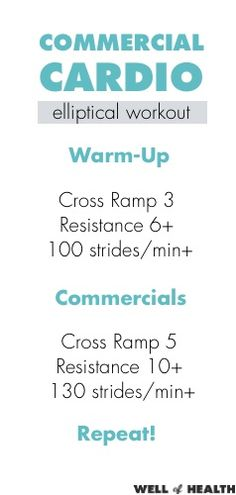 Commercial Cardio Elliptical Workout | Well of Health