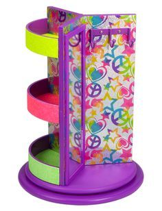 Multi Icon Jewelry Spinner   Organization   Room Accessories   Shop Justice