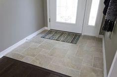 travertine floors gray walls - Google Search