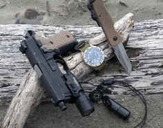 Emerson CQC-7v Maratac Automatic General Purpose Timer : GPT-1 SIG P229R w/ Surefire X300 Ultra LDK SERE (Micro) Type 1.1