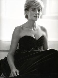 Princess Diana, photographed by Mario Testino, 1997