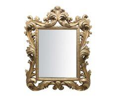 "Nástěnné zrcadlo ""Mavis Gold"", 35 x 3 x 43 cm Mavis, Mirror, Classic, Frame, Gold, Furniture, Home Decor, Derby, Picture Frame"