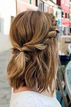 Blonde Hair With Highlights, Brown Blonde Hair, Unique Hairstyles, Pretty Hairstyles, Wedding Hairstyles, Hairstyle Ideas, Latest Hairstyles, Hairstyles Medium Hair, Teen Hairstyles