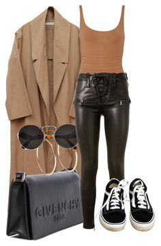 """Look:#546"" by dollarwomanlux ❤ liked on Polyvore featuring Eres, Givenchy, Jennifer Fisher, Prada, Unravel and Vans"