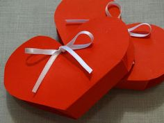 Angela Patella Handmade: Una scatolina per San Valentino.