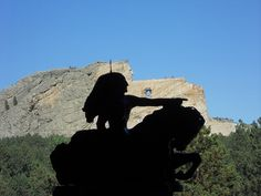 Shadow Rider - at Crazy Horse in South Dakota.