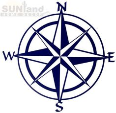 Nautical Relief Metal Wall Art - Compass Rose By Kevin Fletcher - ClipArt Best Compass Wall Decor, Nautical Compass, Simple Compass, Pirate Compass, Compass Symbol, Nautical Logo, Nautical Quilt, Compass Tattoo, Tattoo Ideas