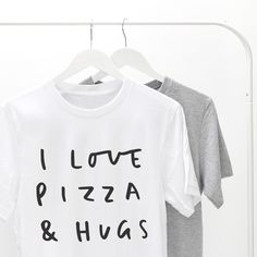 Pizza and hugs! The best way to spend this New Years Eve