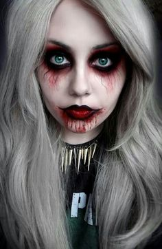 It seems like every year that goes by, Halloween makeup DIYs and tutorials get better. Social media has become a great place for talented makeup artists to share their creative, hyperrealistic looks, and there's no better time than Halloween to take makeup to the extreme. Below are 18 incredible Halloween faces that will definitely inspire …