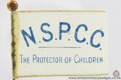 NSPCC. WW1 Fundraising Flag Day