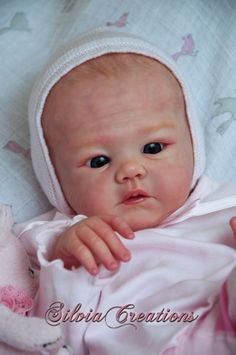 Harlow by Sandy Faber (Teddy Limbs) - Online Store - City of Reborn Angels Supplier of Reborn Doll Kits and Supplies