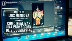 Los próximos 10, 12 y 13 de septiembre el artista visual Luis Mendoza impartirá un taller práctico sobre técnicas de videomapping. Para matricularse en el workshop, clica en la imagen
