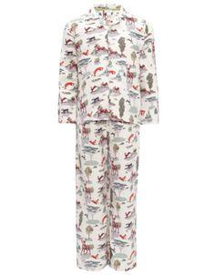Woodland Creatures Pyjamas-Monsoon