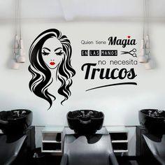 Precios de fábrica ➡ www.viniloscasa.com #peluqueria #vinilospeluquerias #vinilosdecorativos