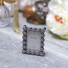 【北欧直輸入】リスベスダール フレーム クリスタルフラワー Sサイズ (Lisbeth Dahl Frame crystal flower antique silver S) [FR00054] #manonstore #LisbethDahl