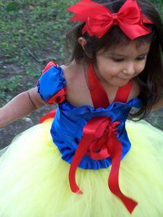 custom snow white tutu dress set 12 months 18 by CHICLILLOVEBUGS, $64.99