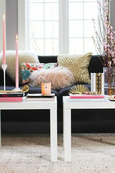 How to Style a Coffee Table.