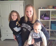 Stephanie Karl Gunesch '06 and baby bonnies -not pictured Matt Gunesch '03.