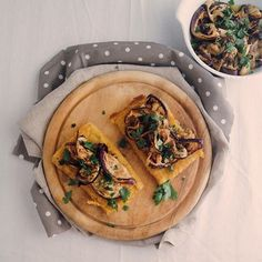 [Photo by julskitchen on Instagram] Chickpea cake with grilled aubergines for lunch. And a tons of recipes to test too.