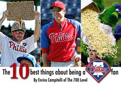 """""""The 10 best things about being a Phillies fan"""" on Yahoo Sports"""