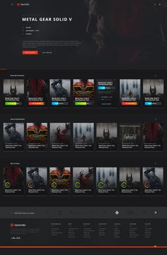 Oc lg 2 Web Design, Design Ideas, Connect Games, Movie Website, Video Game Reviews, Portfolio Website Design, Profile Design, Inspiration Wall, Creative People