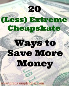"Are you familiar with the show ""Extreme Cheapskates?"" If not, you're missing out on people going to crazy lengths to save a buck.  One woman dumpster dived for all her meals, even going as far as..."