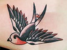 american traditional tattoo swallow - Google Search
