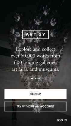 Artsy - The art world in your pocket Screenshots
