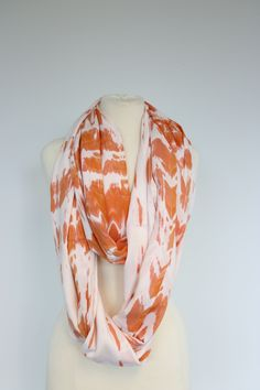 Wear our infinity scarf loose to create a unique and fun look! Infinity, Artisan, Colorful, Create, Unique, Fun, Handmade, Style, Craftsman