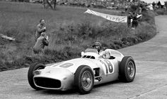 Historic W196 Mercedes-Benz Grand Prix car from 1954. The legendary JM Fangio at wheel. It goes up for sale in July. Gobsmacked