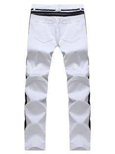 White Jeans, Men's Fashion, Pants, Moda Masculina, Trouser Pants, Mens Fashion, Man Fashion, Women's Pants, Fashion Men