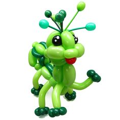 Lime Green Entries Balloon Bug  Katie Wong Man Yee