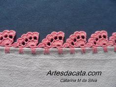 *** Ponto Flu flu, 3D, tridimensional em crochê - YouTube