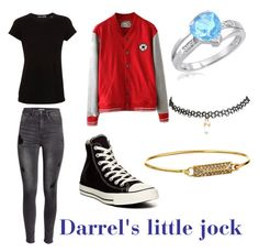 """""""The outsiders Darrel"""" by demongrasergirl on Polyvore featuring Vince, H&M, Converse, Wet Seal and Rebecca Minkoff"""