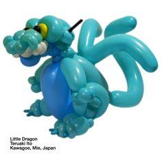 Caribbean blue entries Balloon Little Dragon Teruaki Ito Kawagoe, Mie, Japan